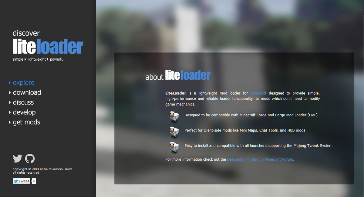 download liteloader 1 12 2/1 11 2/1 10 2 - lightweight mod